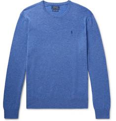 폴로 랄프로렌 Polo Ralph Lauren Cashmere Sweater,Blue