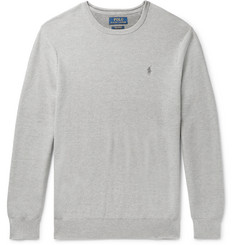 Polo Ralph Lauren Honeycomb-Knit Pima Cotton Sweater