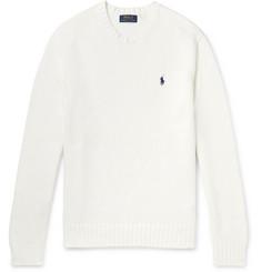 폴로 랄프로렌 Polo Ralph Lauren Cotton Sweater,White