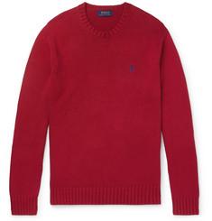 폴로 랄프로렌 Polo Ralph Lauren Cotton Sweater,Red