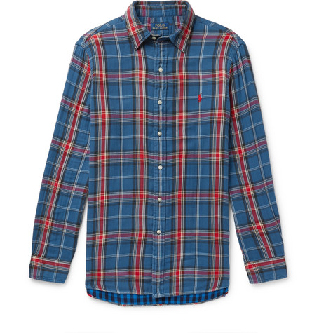 31792a10e Polo Ralph Lauren - Checked Double-Faced Cotton-Flannel Shirt