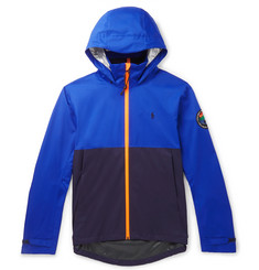 Polo Ralph Lauren Logo-Appliquéd Colour-Block Shell Hooded Jacket
