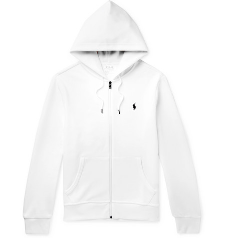 Polo Ralph Lauren Jersey Zip Up Hoodie