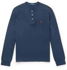 Polo Ralph Lauren Cotton-Jersey Henley T-Shirt