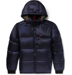 Polo Ralph Lauren Faux Shearling-Trimmed Quilted Shell Down Jacket