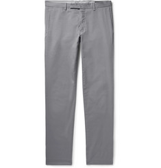 Polo Ralph Lauren Grey Slim-Fit Stretch-Cotton Twill Chinos