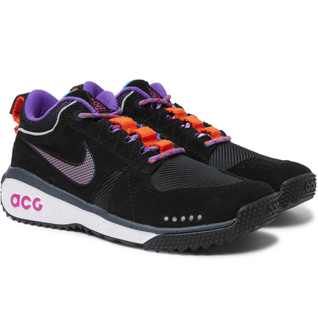new styles cheap price free shipping for nice Nike ACG Dog Mountain Suede and Mesh Sneakers cheap sale visa payment xXdGld