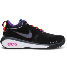 Nike ACG Dog Mountain Suede and Mesh Sneakers
