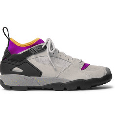 Nike ACG Air Revaderchi Suede, Mesh and Neoprene Sneakers