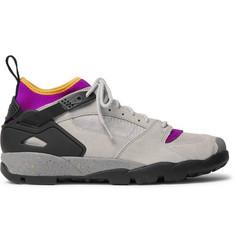 Acg Air Revaderchi Suede, Mesh And Neoprene Sneakers Nike