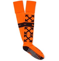 Nike - 	NikeLab + Off-White Stretch-Knit Socks