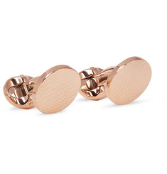 Kingsman + Deakin & Francis Rose Gold-Plated Cufflinks