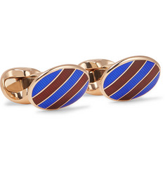 Kingsman - + Deakin & Francis Rose Gold-Plated Cufflinks