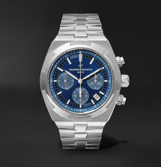 Vacheron Constantin Overseas Automatic Chronograph 42.5mm Stainless Steel Watch