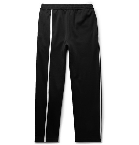 Striped Tech Jersey Sweatpants by Helmut Lang