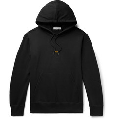 Helmut Lang Taxi London Logo-Print Loopback Cotton-Jersey Hoodie