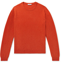 Boglioli Brushed Wool and Cashmere-Blend Sweater
