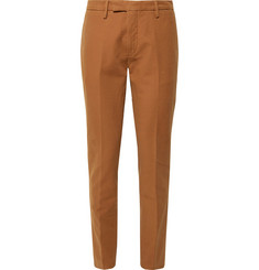 Boglioli Tapered Stretch-Cotton Ottoman Trousers