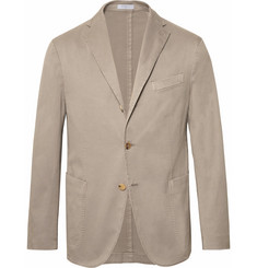 Boglioli - Stone Slim-Fit Unstructured Stretch-Cotton Drill Suit Jacket