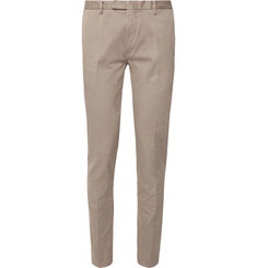 Boglioli - Stone Slim-Fit Stretch-Cotton Drill Suit Trousers
