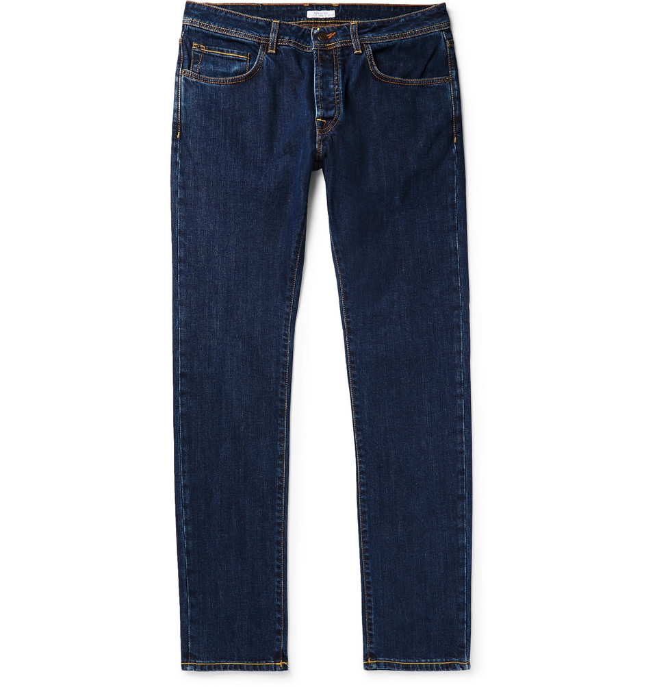 Slim-fit Stretch-denim Jeans - Indigo