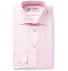 Turnbull & Asser Pink Cotton Oxford Shirt