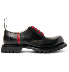652f11833c8 Gucci Arley Leather Derby Shoes