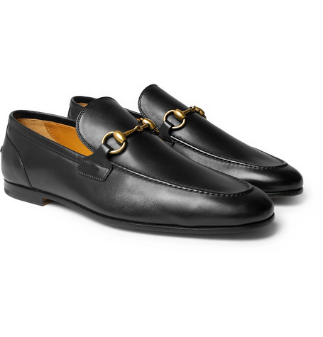Gucci – Horsebit Leather Loafers – Black