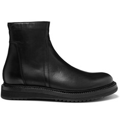 Leather Boots - Black