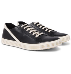 Rick Owens Geotrasher Leather Sneakers