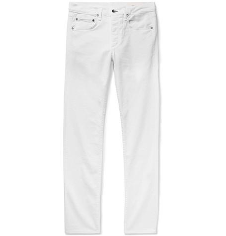 RAG & BONE | Rag & bone - Fit 2 Slim-fit Stretch-denim Jeans - White | Goxip