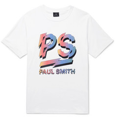 PS by Paul Smith Logo-Print Organic Cotton-Jersey T-Shirt
