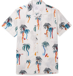 PS by Paul Smith - Camp-Collar Printed Cotton-Poplin Shirt
