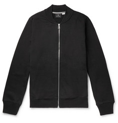 PS by Paul Smith Organic Loopback Cotton-Jersey Bomber Jacket