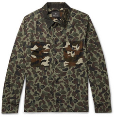 PS Paul Smith - Camouflage-Print Cotton Shirt Jacket
