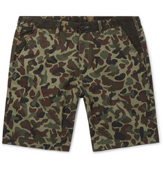 PS by Paul Smith Camouflage-Print Cotton Shorts
