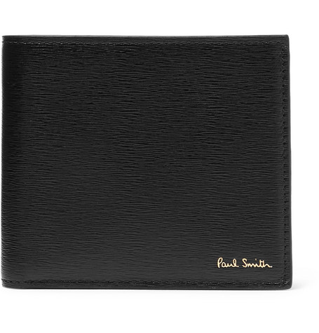 Textured Leather Billfold Wallet by Paul Smith