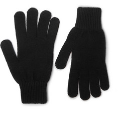 Paul Smith - Cashmere and Wool-Blend Gloves