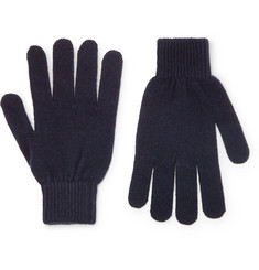 Paul Smith - Cashmere and Merino Wool-Blend Gloves