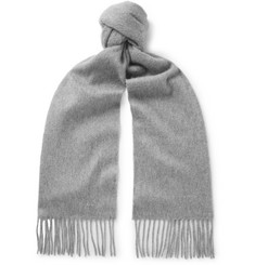 Paul Smith - Fringed Cashmere Scarf