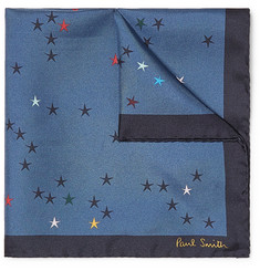 Paul Smith - Printed Silk-Twill Pocket Square