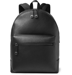 Hugo Boss Cross-Grain Leather Backpack