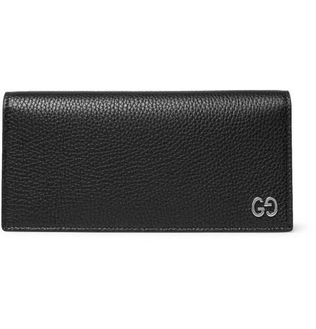 72bebe22f2b Gucci - Dorian Full-Grain Leather Billfold Wallet