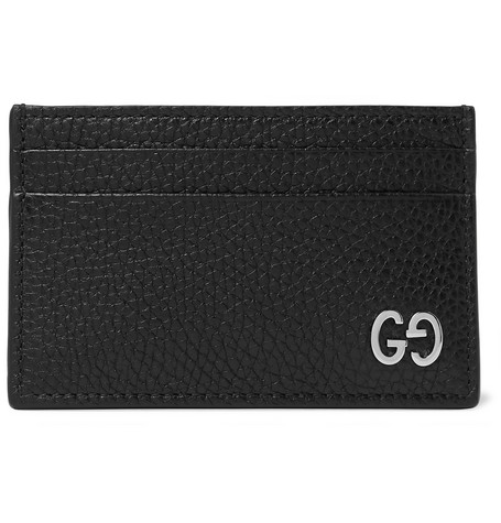 Dorian Full Grain Leather Cardholder by Gucci