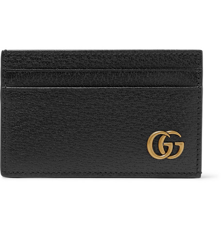 Marmont Full Grain Leather Cardholder by Gucci