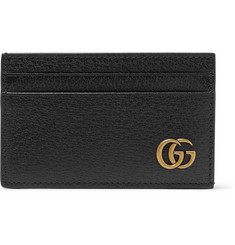 7d11774bf50de2 Gucci - Marmont Full-Grain Leather Cardholder