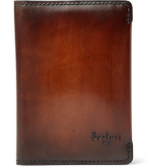 Berluti Ideal Bifold Leather Cardholder