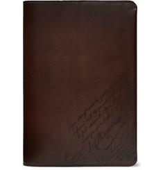 Berluti - Scritto Leather Notebook Cover