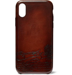 Berluti + Native Union Scritto Leather iPhone XS Case