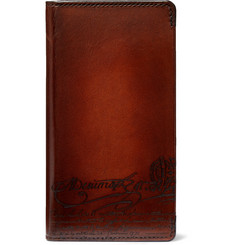 Berluti - + Native Union Scritto Leather iPhone XS Case